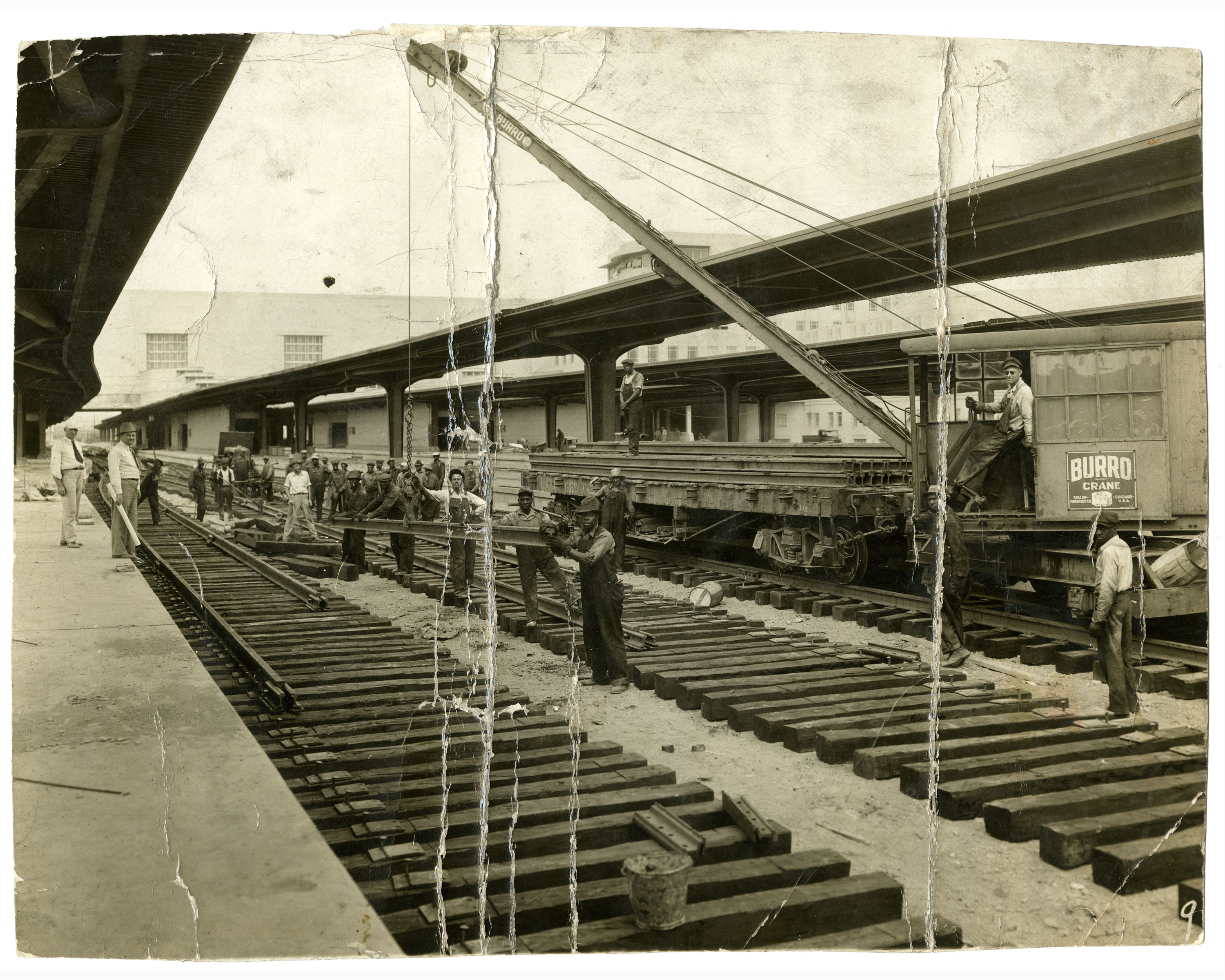 construction of union terminal tracks
